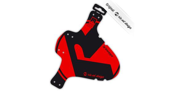 "rie:sel design schlamm:PE Mudguard 26-29"" red"